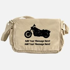 Personalize It, Motorcycle Messenger Bag