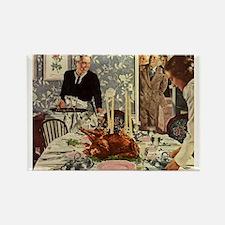 Vintage Thanksgiving Dinner Magnets