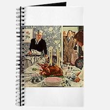 Vintage Thanksgiving Dinner Journal