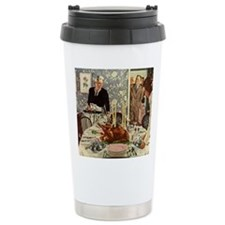 Vintage Thanksgiving Dinner Travel Mug