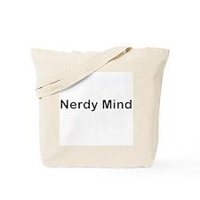Nerdy Mind Tote Bag