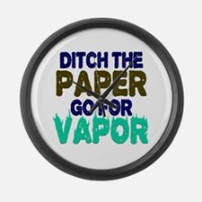 Ditch the Paper Large Wall Clock
