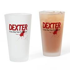 Dexter Gone But Not Forgotten Drinking Glass