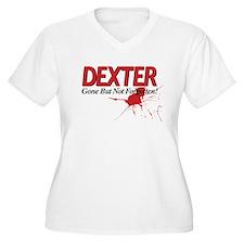 Dexter Gone But Not Forgotten Plus Size T-Shirt
