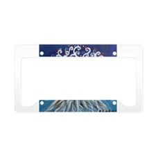 Jack Russell Terrier Tree License Plate Holder