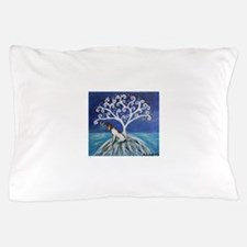 Jack Russell Terrier Tree Pillow Case