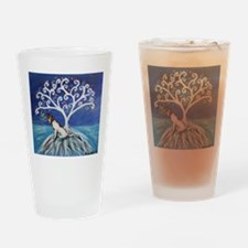 Jack Russell Terrier Tree Drinking Glass