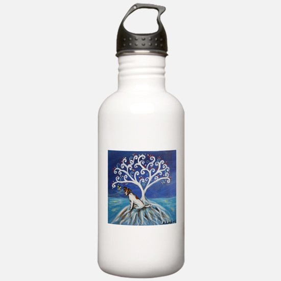 Jack Russell Terrier Tree Water Bottle