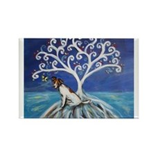 Jack Russell Terrier Tree Magnets