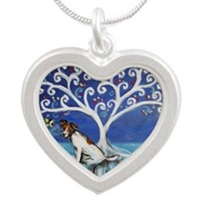 Jack Russell Terrier Tree Necklaces