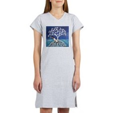 Jack Russell Terrier Tree Women's Nightshirt