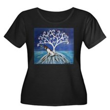 Jack Russell Terrier Tree Plus Size T-Shirt
