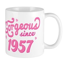 Gorgeous Since 1957 Mug