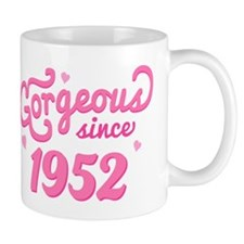 Gorgeous Since 1952 Mug