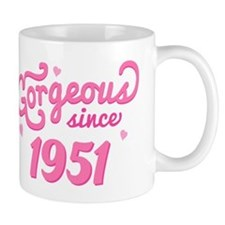 Gorgeous Since 1951 Mug