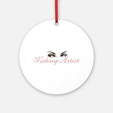 Makeup Artist Ornament (Round)