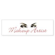 Makeup Artist Bumper Bumper Sticker