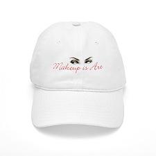 Makeup is Art Baseball Cap