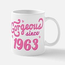 Gorgeous Since 1963 Mug