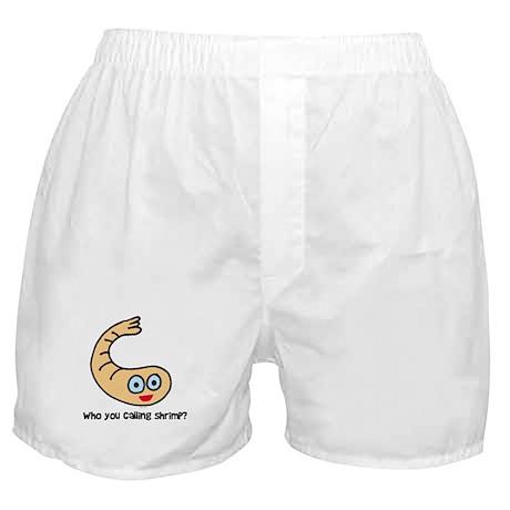 Who you callin' shrimp? Boxer Shorts