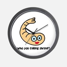 Who you callin' shrimp? Wall Clock
