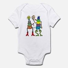 Poptoon crazies Infant Bodysuit