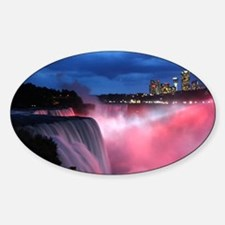 Niagara Falls at Night Decal