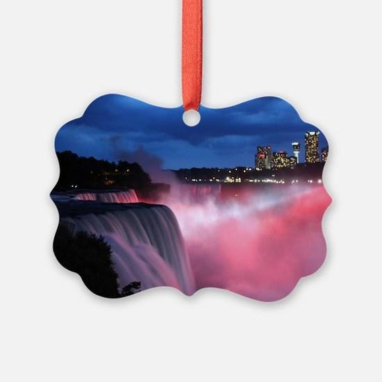 Niagara Falls at Night Ornament