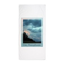 Erie, Pennsylvania Beach Towel