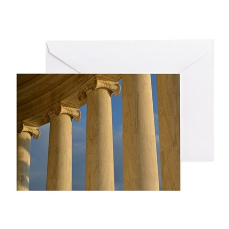 Pillars of the Community Greeting Card