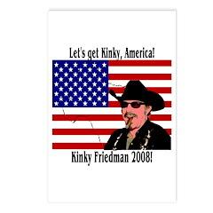 Kinky 2008! Postcards (Package of 8)