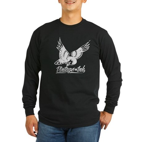 Vintage Ink Eagle Long Sleeve T-Shirt