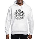 Northwest Indian Folkart Hooded Sweatshirt