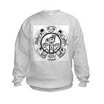 Northwest Indian Folkart Kids Sweatshirt
