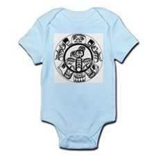 Northwest Indian Folkart Infant Bodysuit