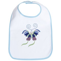 Japanese Butterfly Bib