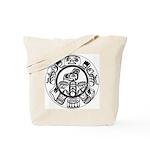 Northwest Indian Folkart Tote Bag
