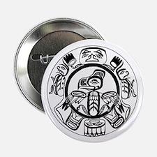 "Northwest Indian Folkart 2.25"" Button (10 pack)"