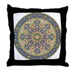 Persian Beauty Throw Pillow