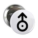 Uranus Planet Symbol Button