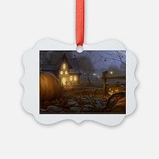 Haunted Halloween Village Ornament