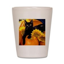 Halloween Cat Shot Glass