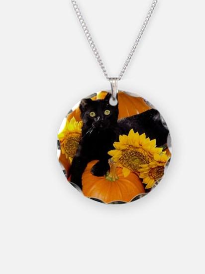 Halloween Cat Necklace