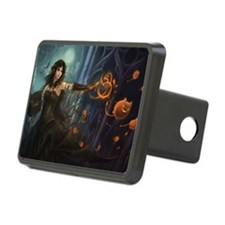 Haunting Halloween Beauty Hitch Cover
