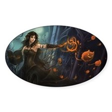 Haunting Halloween Beauty Decal