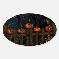 All the pretty pumpkins in a row Decal
