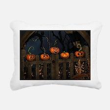 All the pretty pumpkins  Rectangular Canvas Pillow