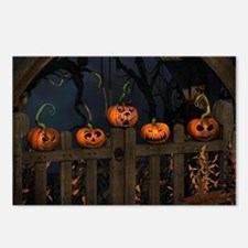 All the pretty pumpkins i Postcards (Package of 8)