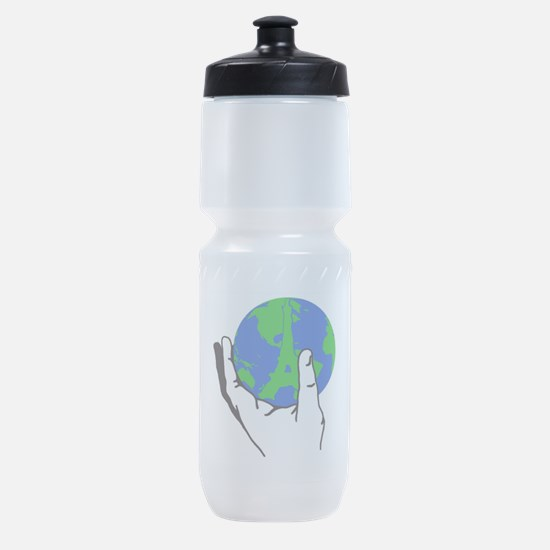 I WILL UPHOLD THE PARIS ACCORD...... Sports Bottle