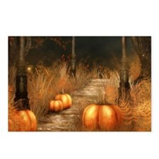 Take a walk in Autumns bo Postcards (Package of 8)